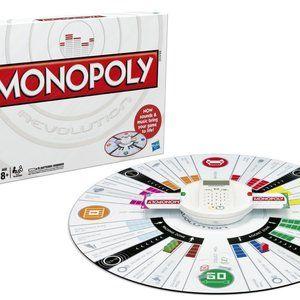 Hasbro Revolution Edition Monopoly Board Game